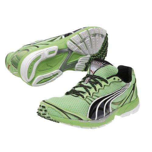 Puma - Zapatillas de deporte de material sintético para hombre - Verde, 9.5 UK