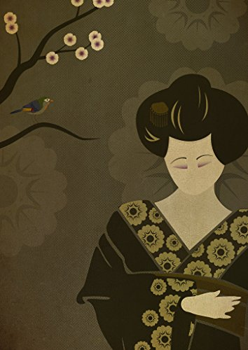 (Geisha Without A Fan (Print - 15x10 in.))