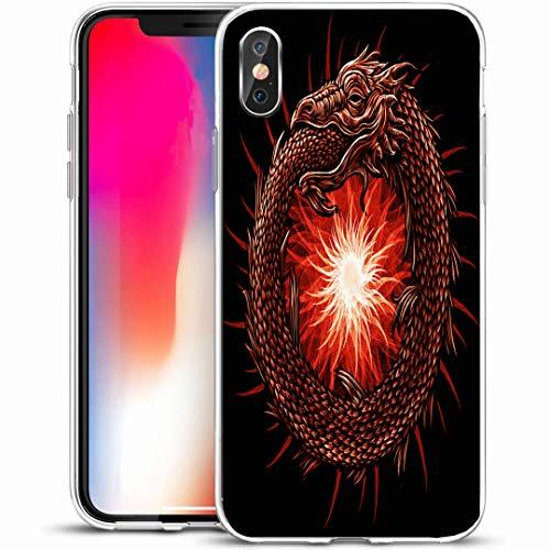 Ahawoso Custom Phone Case Cover for iPhone X/XS 5.8