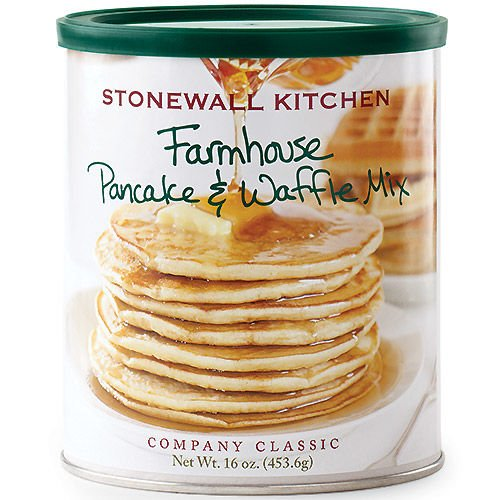 Stonewall Kitchen Farmhouse Pancake and Waffle Mix, 16 Ounce Can made in New England