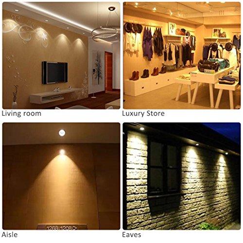 Faretti Led 2700k.Ledmo 4 Pack Led Recessed Ceiling Lights 3 Inch 3w 300lm 30w Equivalent Warm White 2700k 230v Led Ceiling Spotlight Downlight
