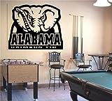 big alabama window decal - NCAA Alabama Crimson Tide Wall Art Decal Sticker (S045)