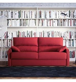 SHIITO Sofá Dos plazas con Cama de 90x190cm tapizado en Tela. Disponible