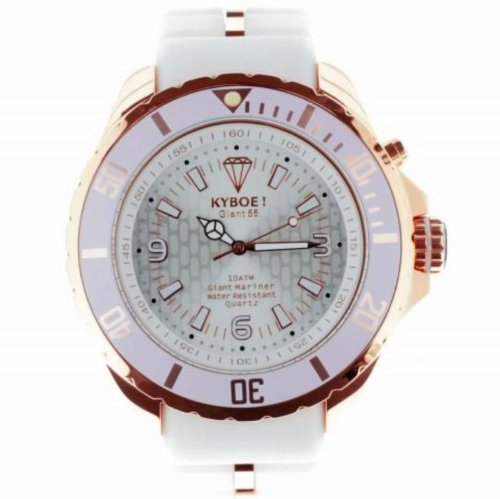 KYBOE ROSE GOLD WHITE WATCH : RG-003 (48)
