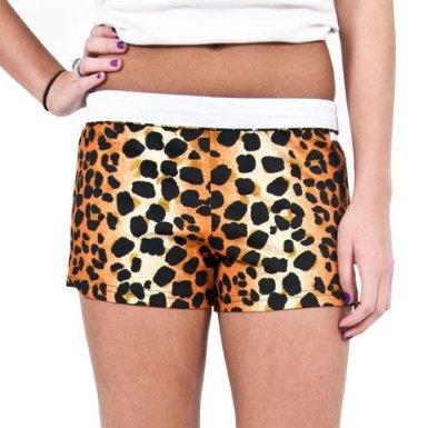 Soffe Leopard Junior Novelty Short-LARGE