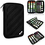 BUBM Portable EVA Hard Drive Case Travel Organizer Electronics Accessories /Cables & Accessories/ Hard Drive Portable Hard Drive Case Small Bag Case for Electronics