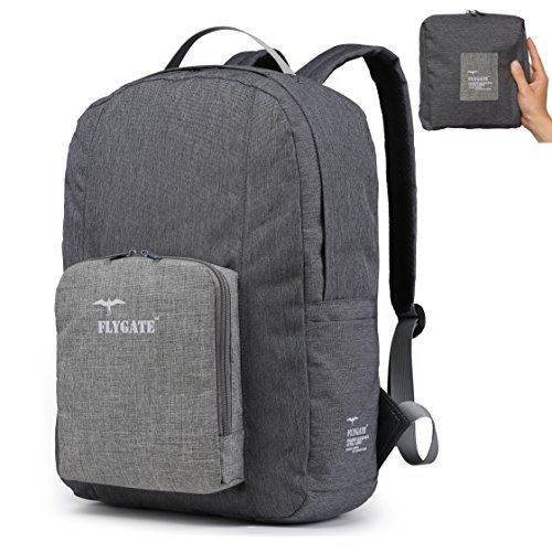 35L Tarifa Grey Sand Ultra Lightweight Large Size Packable Foldable Waterproof Travel Backpack - a must have for any seasoned traveler