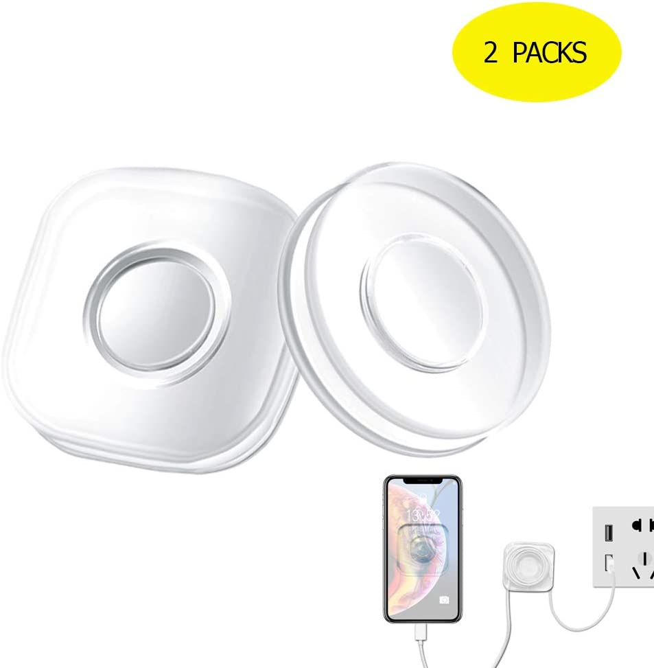 Cables Storage or Various of Small device and it Office Storage Home Portable Multi- Functional Universal Sticky Car Phone Holder Compatible with Car Washable Nano Gel Pad Traceless Magic Stickers