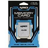 KMD Memory Card, 4MB-White, Wii