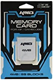 KMD 4MB 59 Blocks Memory Card for Wii and Gamecube