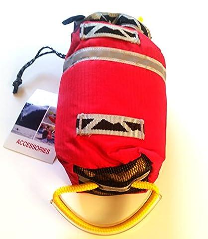 Peak UK Kayak Throwline 8 meter, 16 meter, 25 meter Throwbag Bull bag Safety Line (8M) - Throw Rope Bag