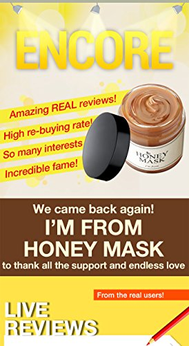 [I'M From] Honey Mask 4.23oz | wash off type, real honey 38.7%, Deep moisturization, Nourishment,and Clear Complexion.