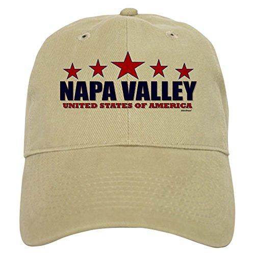 CafePress - Napa Valley U.S.A. Cap - Baseball Cap with Adjustable Closure, Unique Printed Baseball Hat