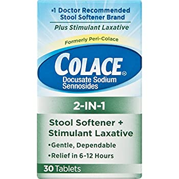 Amazon Com Colace Regular Strength Stool Softener 100 Mg