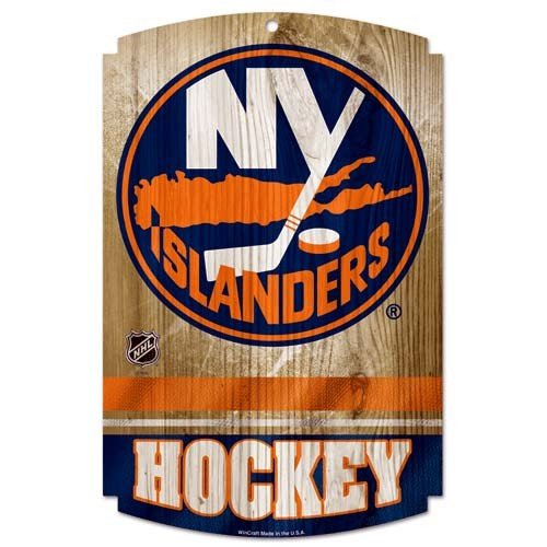 WinCraft NHL New York Islanders 73170012 Wood Sign, 11