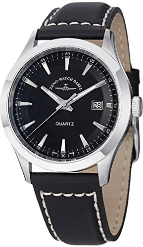 Zeno Men's 6662-515Q-G1 Vintage Line Analog Display Quartz Black Watch