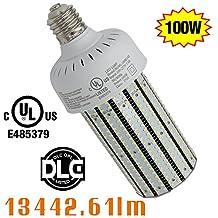 NGTlight 100w LED Corn Bulb Light Mogul Base E39 6500K Cool White 360 Degree Energy Saving light Replace 400w Metal Halide