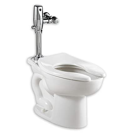 Outstanding American Standard 3451 660 020 Madera 15 Inch Elongated Universal Floor Mount Toilet Bowl With Everclean And 1 6 Gpf Selectronic Flush Valve Beatyapartments Chair Design Images Beatyapartmentscom