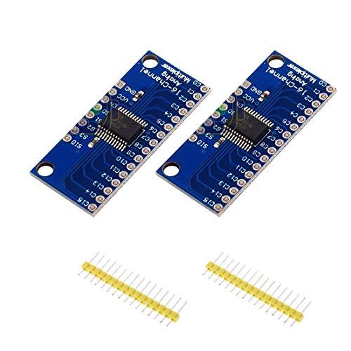 16 Channel Analog Multiplexer - DEVMO 2PCS CD74HC4067 16 Channel Analog Digital Multiplexer MUX Breakout Board Module US