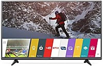 LG 55UF6800 55-inch LED Smart 4K Ultra HDTV - 3840 x 2160 - TruMotion 120 Hz - Quad-Core Processor - webOS 2.0 - Wi-Fi - HDMI (Certified Refurbished)