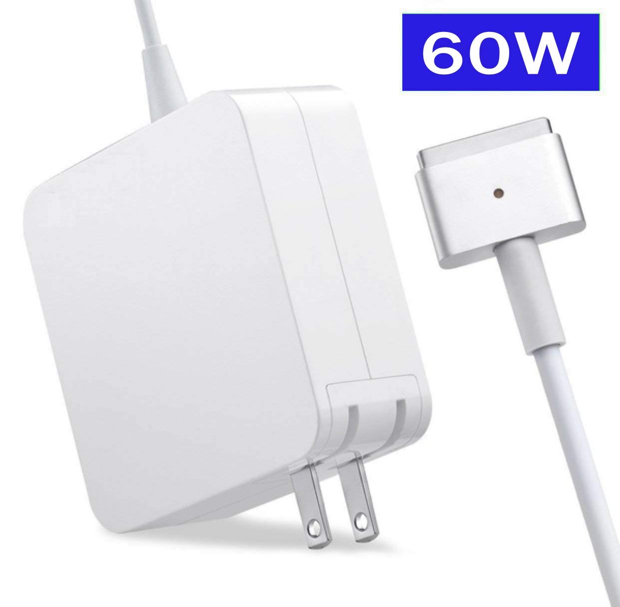 Sunggo Power Adapter Charger,60W T-Tip Replacement Charger Compatible MacBook Pro 13inch - After Late 2012