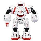 Dreamyth Fun K1 Kaidiweier Remote Control Intelligent Sensor Robot With Light Long Standby (Red)
