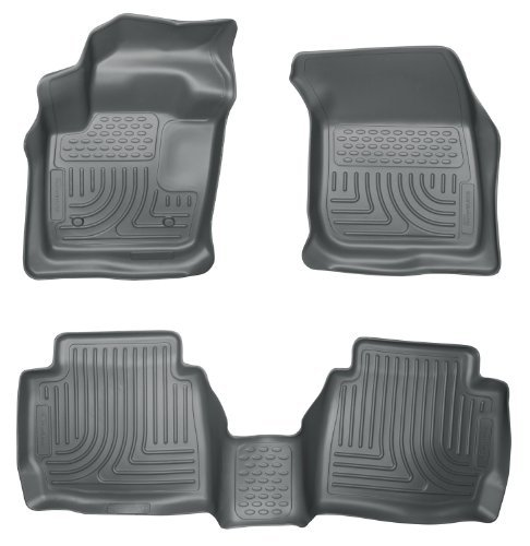 (Husky Liners 99752 WeatherBeater Grey Front and 2nd Seat Floor Liner by Husky Liners)