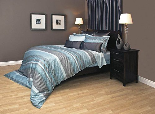 Daniadown Duvet Cover - Graphica Aqua (Super King)