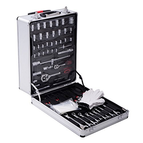 Professional Mechanic Tool Kit Set Trolley Case 1 Oder 599 PCS Portable Wrenches Socket Spark Plug Bits Screwdrivers Extension Bar Universal Joint Tools Organizer Garage Automobile Craftsman - Eyeglass Brands Costco At