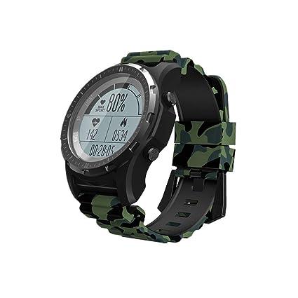 FFHJHJ Reloj Inteligente GPS Smart Watch Impermeable Smartwatch ...