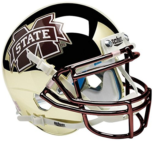 NCAA Mississippi State Bulldogs Chrome M - State Bulldogs Helmet Shopping Results