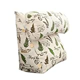 Lumbar Pillow Cailin, Bedside Cushion, Triangular Sofa Large Backrest, Soft Bag, Princess Pillow, Waist Pillow, Washable
