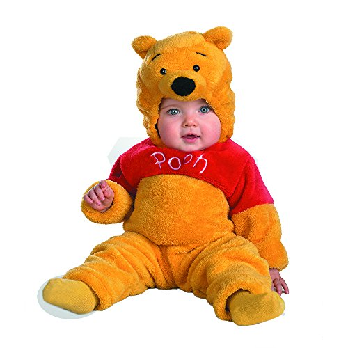Winnie The Pooh Deluxe 2-Sided Plush Jumpsuit Costume (12-18 -