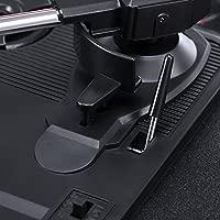 Tocadiscos Vinilo, DMYCO Tocadiscos Vintage 3 Velocidades 33/45/78 con Altavoces Incorporados Salida USB PC Digitalizador Vinilos, Codificador a MP3, ...