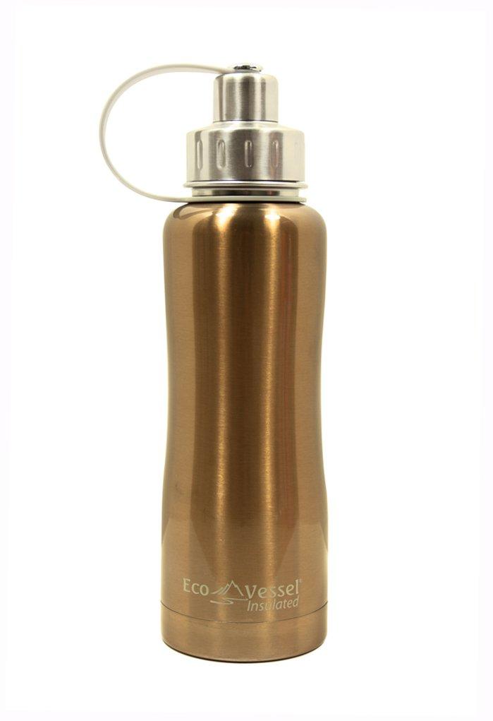 Eco Vessel Trinkflasche mit Schraubverschluss Boulder, 750 ml