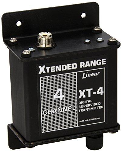 Linear XT-4 4-Channel Stationary Mid-Range Transmitter, Blac