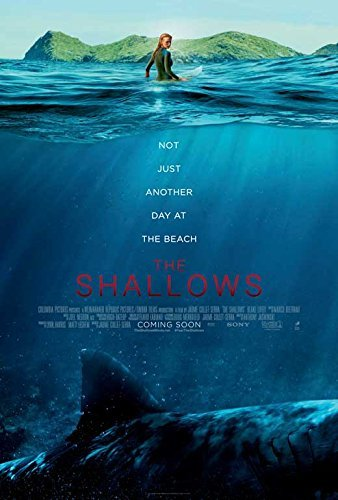 Image result for the shallows movie poster