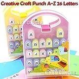 DIY Album Scrapbooking Tools Craft Alphabet Paper Punch A~Z Letters