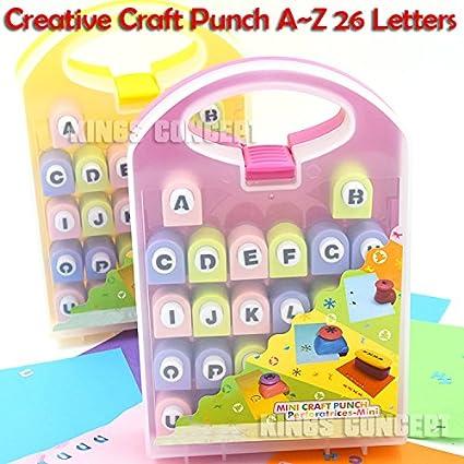 Amazon Diy Album Scrapbooking Tools Craft Alphabet Paper Punch
