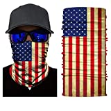 unbrand Camo Face Mask Breathable Seamless Tube Dust-Proof Windproof UV Bicycle ATV Face Mask for Motorcycling Cycling Hiking Camping Climbing Fishing Hunting