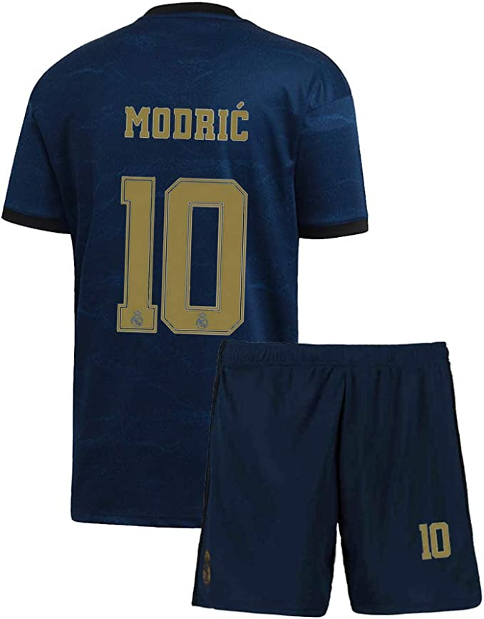 Amazon.com: Camiseta juvenil Modric 2019-2020 Real Madrid 10 ...