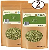 Chives Dried - Freeze Dried Chives - Bulk Dried Chives - Bulk Spices - 2 Pack of 2 Ounces