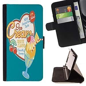 King Case - FOR HTC One M7 - Another object to no friends - Prima caja de la PU billetera de cuero con ranuras para tarjetas, efectivo Compartimiento desmontable y correa para la mu?eca