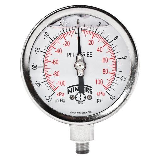 vacuum gauge hg stainless - 7