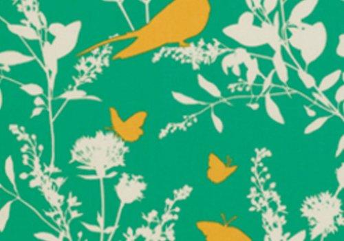 Joel Dewberry Bungalow Swallow Study in Emerald