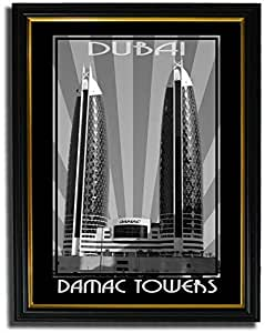 Photo of Damac Tower Black And White F08-NM (A5)