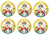 Bundle of 6: Disney Tsum Tsum Mystery Stack Pack Mini Figures Series 7