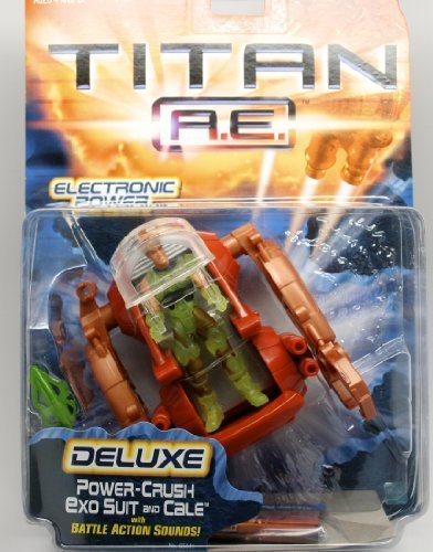 Titan A.E. Power-Crush Exo Suit and Cale Deluxe Assortment Action ()