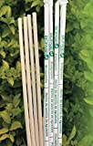 Avocado Seed Straws - Longest Lasting 100% biodegradable Straws - 2000 count, 8.26'' unwrapped