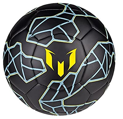 Adidas Performance Messi Soccer Ball Size 5 (black)
